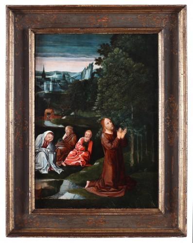 Christ in the garden of Olives, follower of Isenbrandt