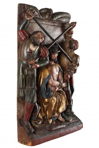 Sculpture  - 4 German Groups early 16th century