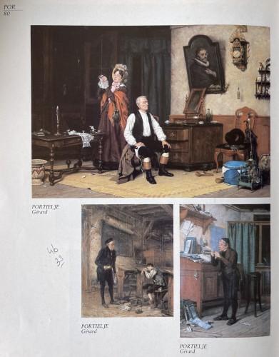 Gérard Portielje ( 1856-1929) - the tired schoolboy -