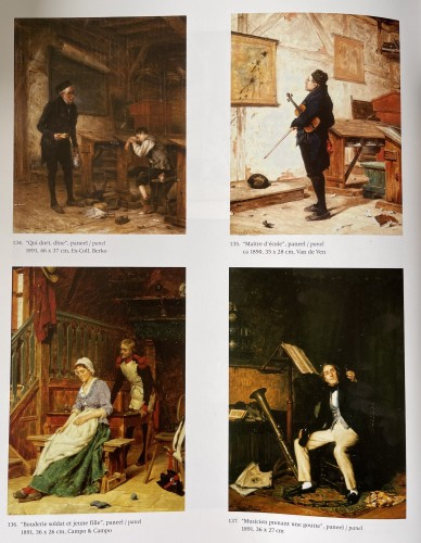 19th century - Gérard Portielje ( 1856-1929) - the tired schoolboy