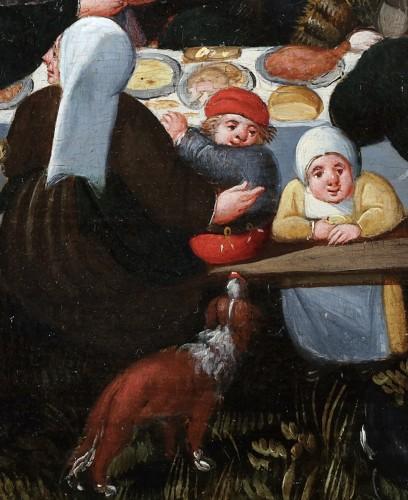 The wedding Feast - Marten van Cleve (1527 Antwerp - 1581 Antwerp) -