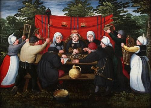 Gifts for the bride - Marten van Cleve (1527 Antwerp - 1581 Antwerp) - Paintings & Drawings Style