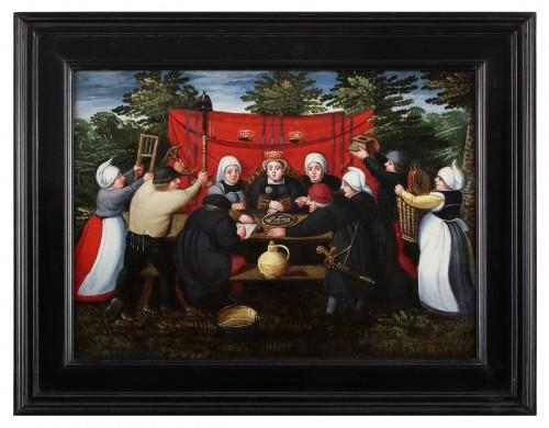 Paintings & Drawings  - Gifts for the bride - Marten van Cleve (1527 Antwerp - 1581 Antwerp)