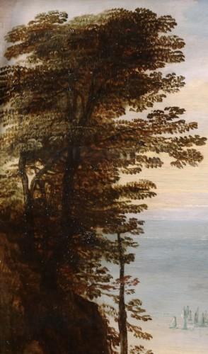 17th century - Extensive landscape with gentry - Joos de Momper & Sebastiaen Vrancx