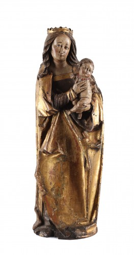 A group representing the Virgin and Child- Germany early 16th century