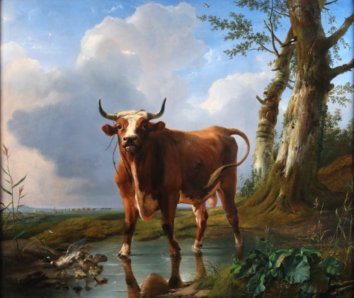 The Bull - Eugène Verboeckhoven (1789-1881) - Paintings & Drawings Style
