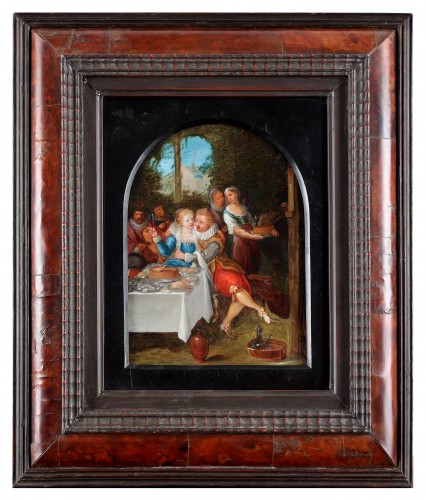 Paintings & Drawings  - The parable of the prodigal son - Flemish School, 17th century