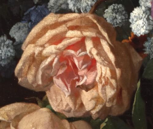 Flowers in a vase - David De Noter (1818-1892) -