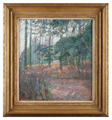 Paintings & Drawings  - A forest view during daytime- Jenny Montigny (1875-1937)