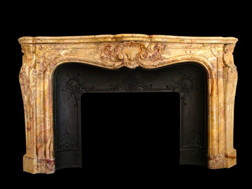 19th century marble firepkace - Architectural & Garden Style