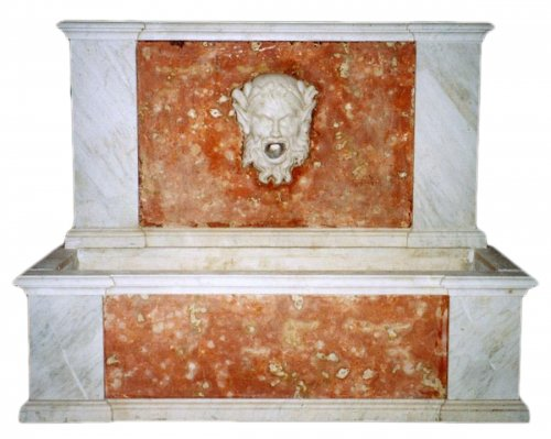 Marble Fountain, France early 19th century