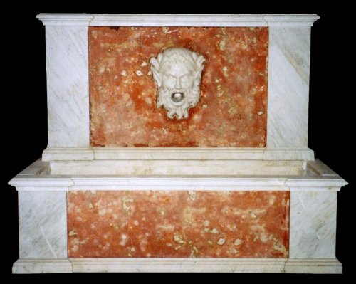 Architectural & Garden  - Marble Fountain, France early 19th century