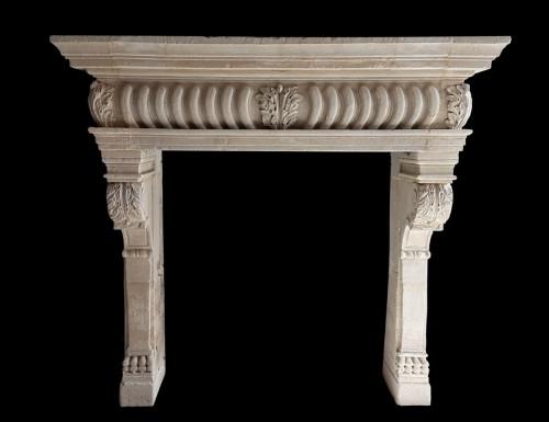 Renaissance stone fireplace - Architectural & Garden Style Renaissance