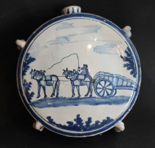 Porcelain & Faience  - Gourd in Nevers