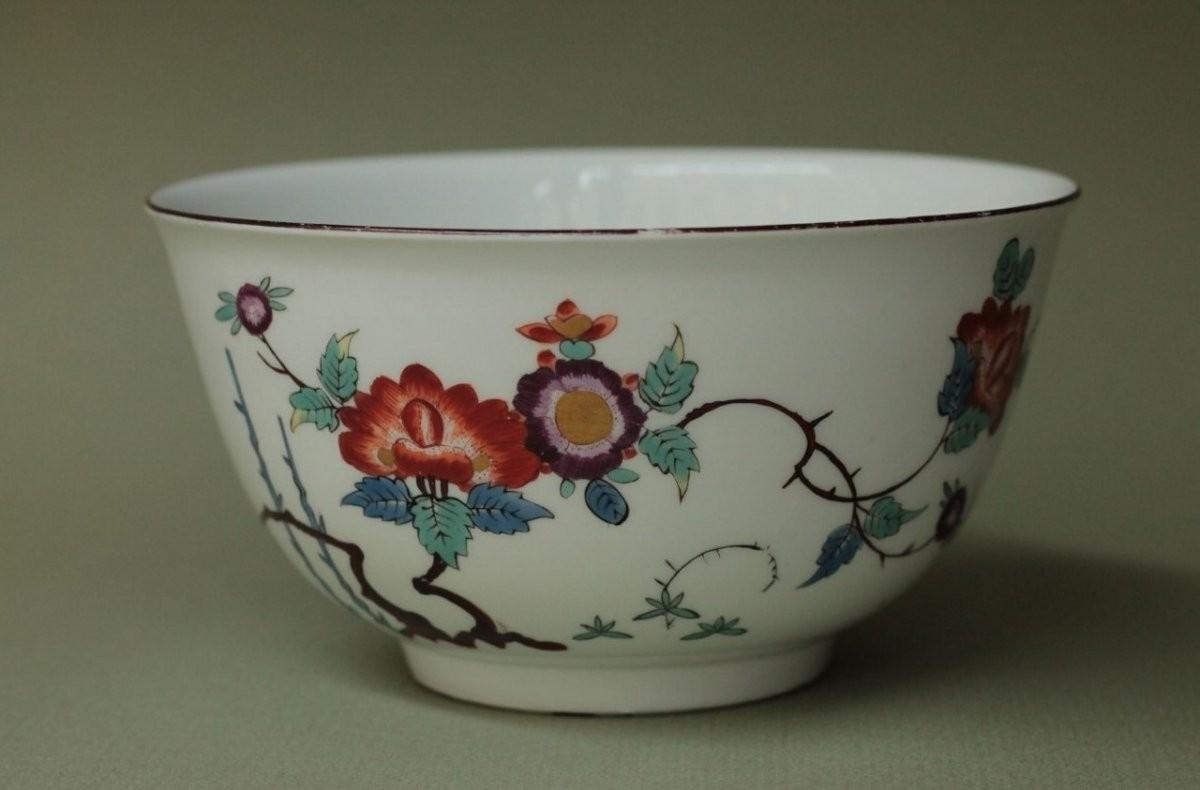 Kakiemon Bowl Meissen Porcelain Circa 1740 Ref 64575