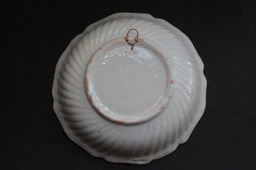 "Large Faience Dish of Nevers ""René Tenié"" -"