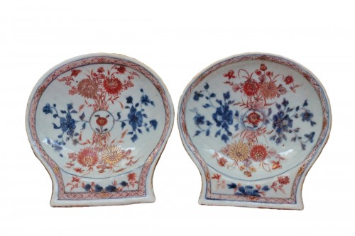 Pair of Imari China porcelain bowls