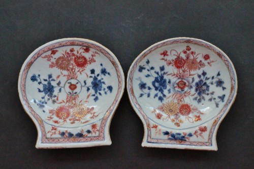 Porcelain & Faience  - Pair of Imari China porcelain bowls