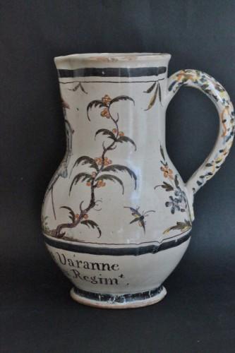 Porcelain & Faience  - Faience jug of Lille