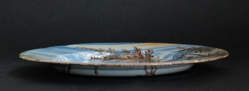 Pavia Faience dish - Late of 17th / Beginning of 18th century -