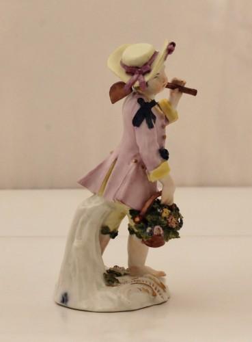 Meissen porcelain gardener statuette - Porcelain & Faience Style