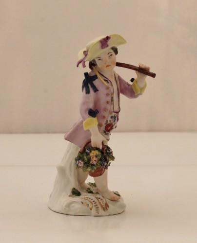 Meissen porcelain gardener statuette -