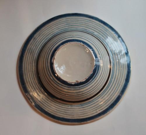 Cafaggiolo majolica Tondino - Porcelain & Faience Style