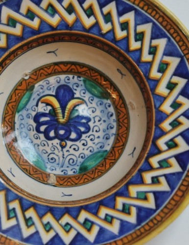 Porcelain & Faience  - Cafaggiolo majolica Tondino