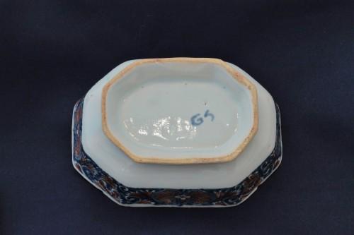 18th century - Rouen earthenware spice box