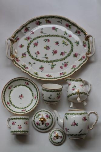 Sèvres, Porcelain cabaret - Porcelain & Faience Style