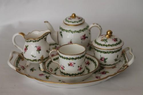 18th century - Sèvres, Porcelain cabaret