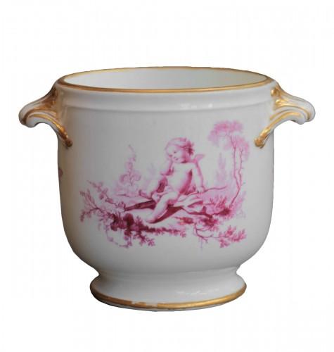 Vincennes porcelain liqueur bucket