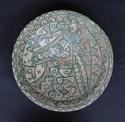 11th to 15th century - Ceramic Dish Of Amol (Iran) 12th Century