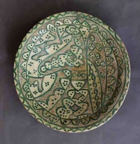 Ceramic Dish Of Amol (Iran) 12th Century - Middle age