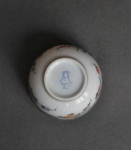 18th century - Sugar Pot in Vincennes Porcelain Circa 1756