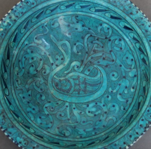 Porcelain & Faience  - Bowl as Djoveyn, Iran 14th century
