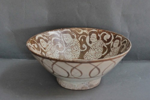 Bowl Kashan, Iran 12th-13th century - Porcelain & Faience Style Middle age