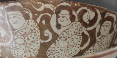 Porcelain & Faience  - Bowl Kashan, Iran 12th-13th century