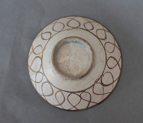 11th to 15th century - Bowl Kashan, Iran 12th-13th century