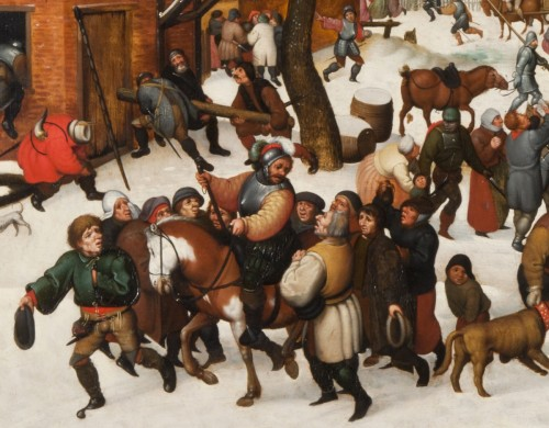 Paintings & Drawings  - The massacre of the Innocents under the snow
