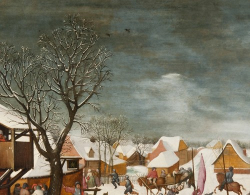 The massacre of the Innocents under the snow -