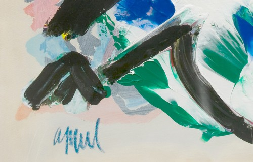 Abstract composition - Karel APPEL (1921-2006) - Paintings & Drawings Style