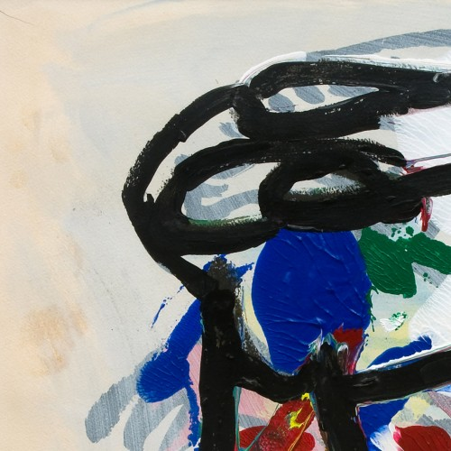 Paintings & Drawings  - Abstract composition - Karel APPEL (1921-2006)