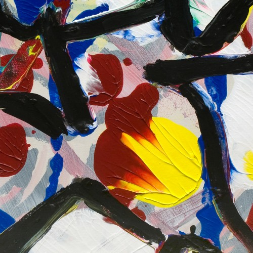 Abstract composition - Karel APPEL (1921-2006) -
