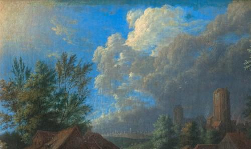 Paintings & Drawings  - Karel BREYDEL (1678 - 1733) - The convoy halt (A pair)