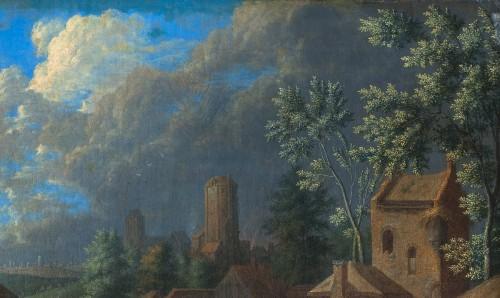 Karel BREYDEL (1678 - 1733) - The convoy halt (A pair) -