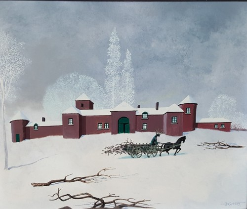 Snow - Gaston BOGAERT  (1918 - 2008)