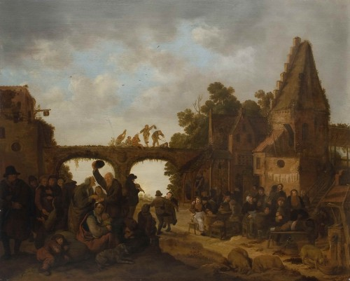 Jan Miense MOLENAER (1609 - 1668) - Village kermess