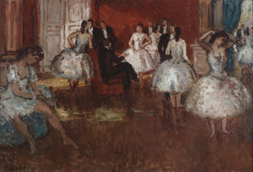 Marcel Jean louis COSSON (1878-1956) - The Opéra in Paris