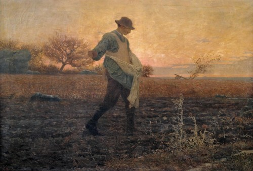 The sower - Henri NAEGELY (1862-1875)